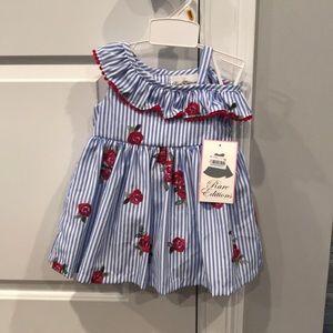 Baby Girl Rare Editions Dress NWT
